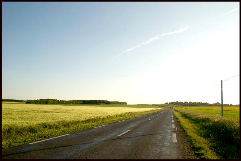 Fin d'après-midi en Normandie