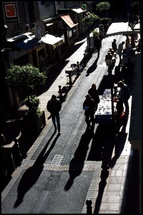 Rue Clémenceau, jour de marché