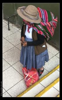 Arequipa, villageoise au Mercado, le 6 novembre 2017 copie