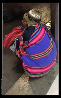 Cusco, fin de journée de vendeuse, le 11 novembre 2017