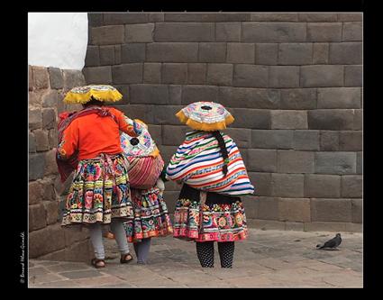 Cusco-Fin de journée eglise San Domingo le 10 novembre 2017