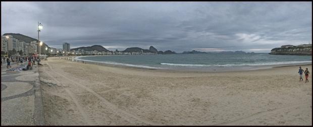 Rio-Copacabana le soir
