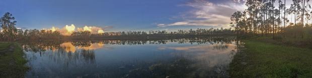 Everglades sunset 1